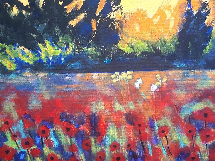 Field of Poppies by Nikki Dalton