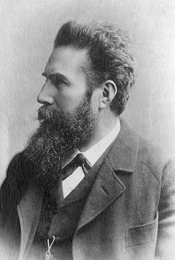 Wilhelm Conrad Roentgen (1845-1923) by Granger