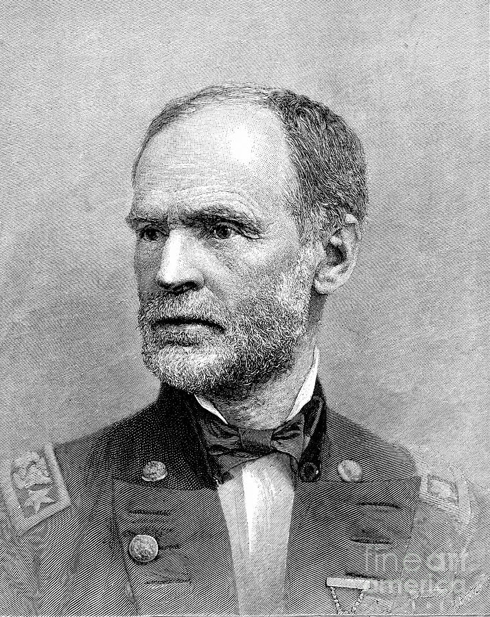 William Tecumseh Sherman, American Drawing by Print Collector