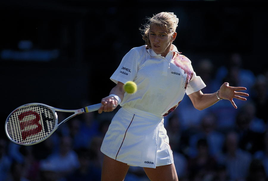 Wimbledon Lawn Tennis Championship Photograph by Getty Images