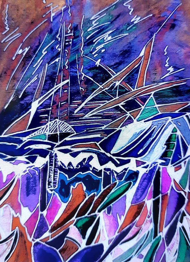 Windy Sail by Nikki Dalton