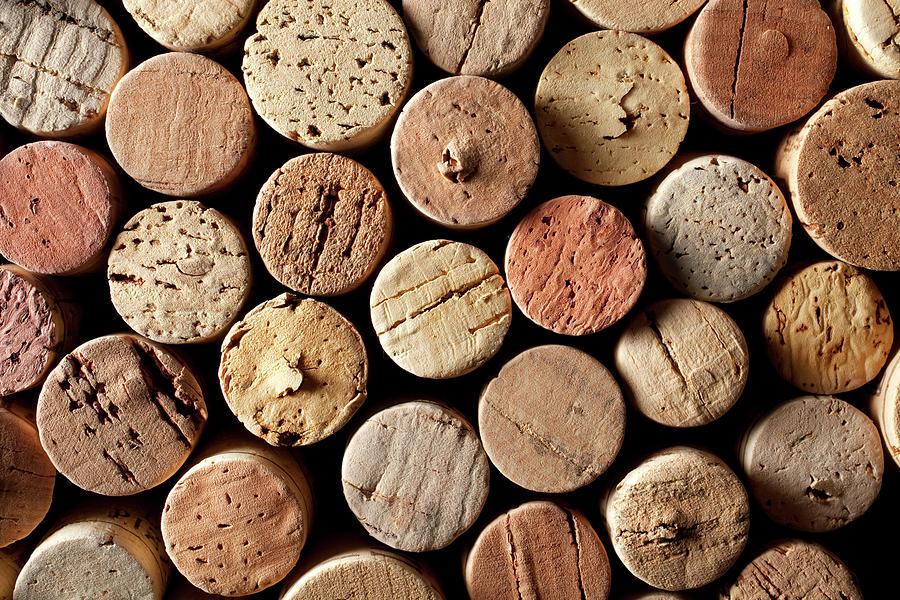 Wine Corks Photograph by Malerapaso