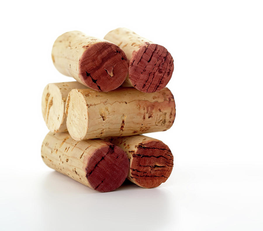 Wine Corks Serie Of 28 Images Photograph by Luso