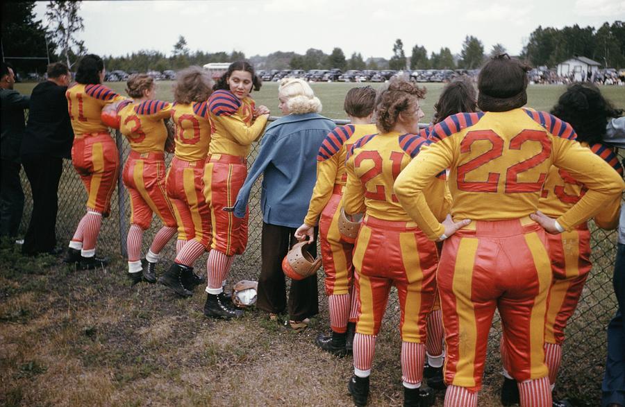 Womens Football 1 Photograph by Michael Ochs Archives