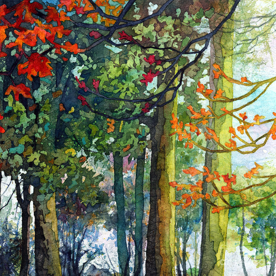 Woodland Trail Painting