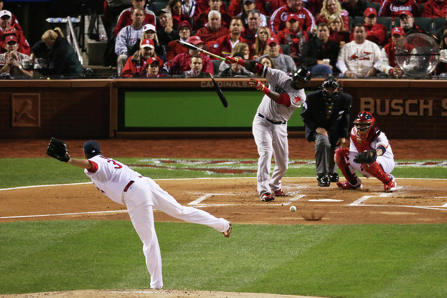 World Series - Boston Red Sox V St 1 Photograph by Rob Carr