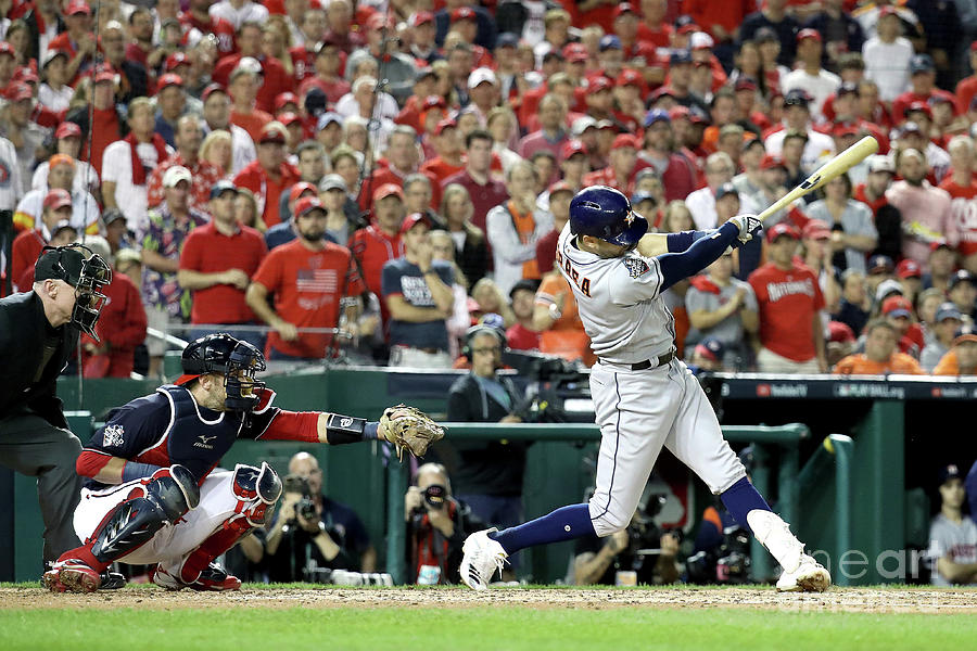 World Series - Houston Astros V 1 Photograph by Rob Carr
