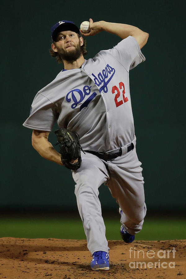 World Series - Los Angeles Dodgers V 1 Photograph by Pool