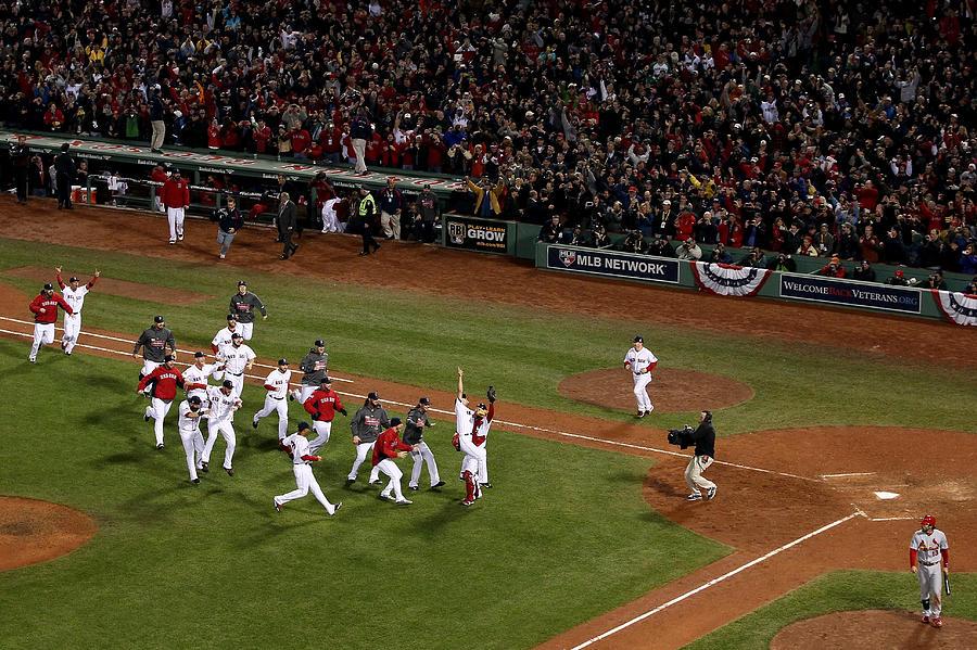World Series - St Louis Cardinals V 1 Photograph by Alex Trautwig
