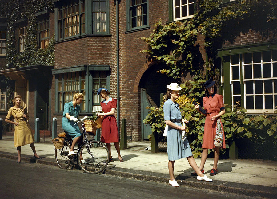 World War II. Fashion. Pic June 1943 Photograph by Popperfoto