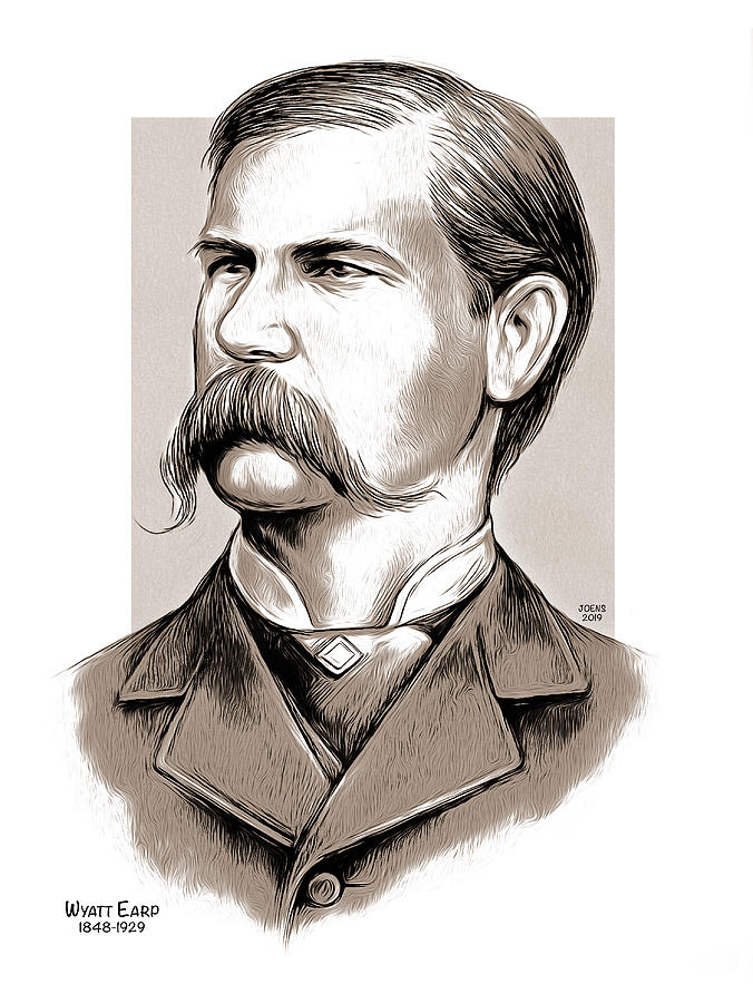 Wyatt Earp by Greg Joens