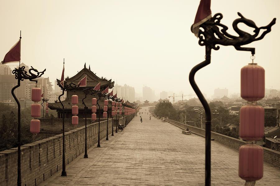Xian City Wall, China Photograph by Fototrav