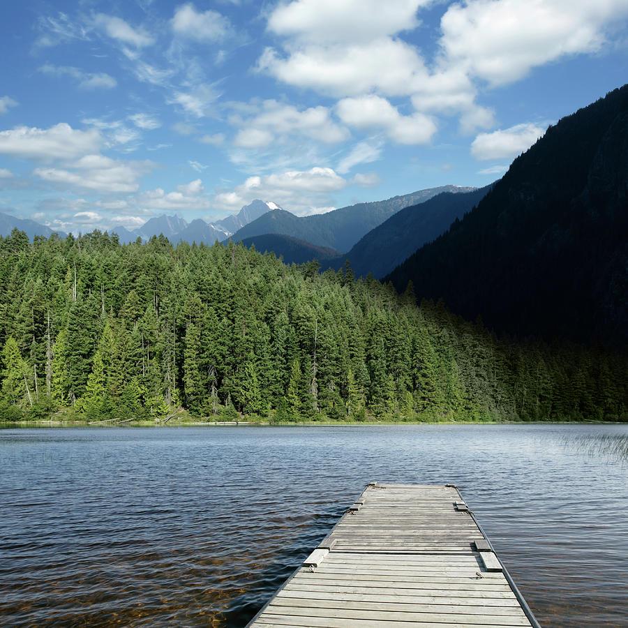 Xxl Mountain Wilderness Lake Photograph by Sharply done
