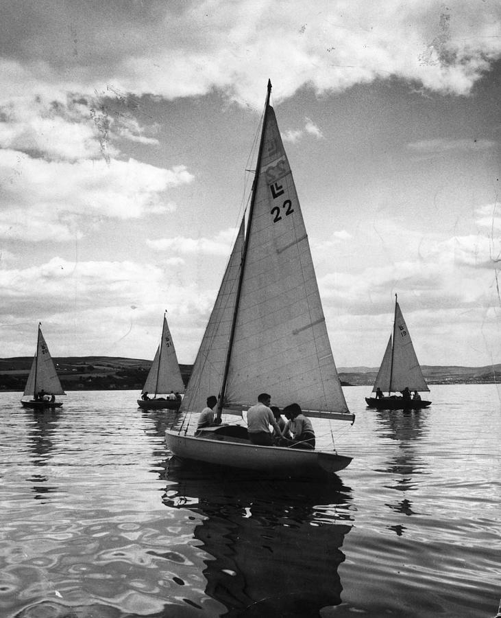 Yachting Photograph by Bert Hardy