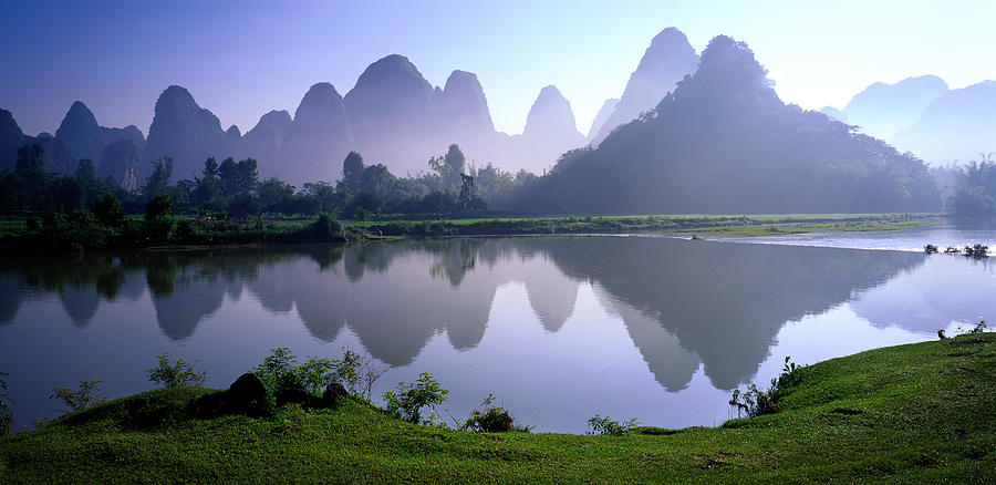 Yangshuo,guilin,guangxi,china Photograph by View Stock