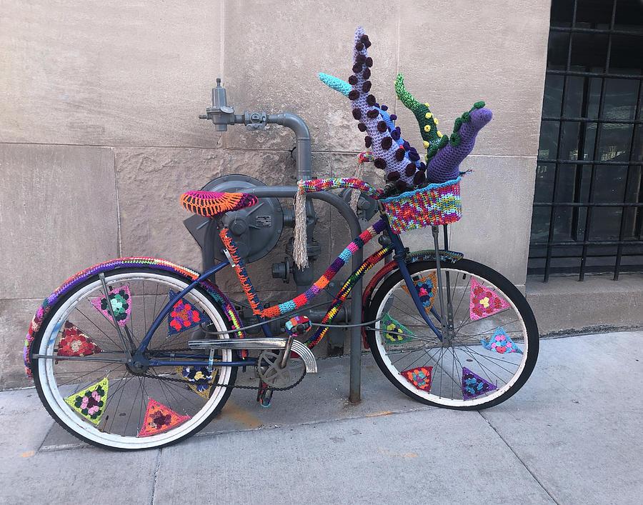 Yarn Bike by Tom Reynen
