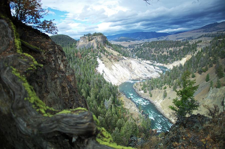 Yellowstone River Photograph by Dominik Eckelt