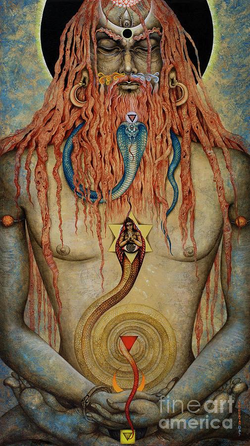 Yogi Painting - Yogi. Kutastha by Vrindavan Das