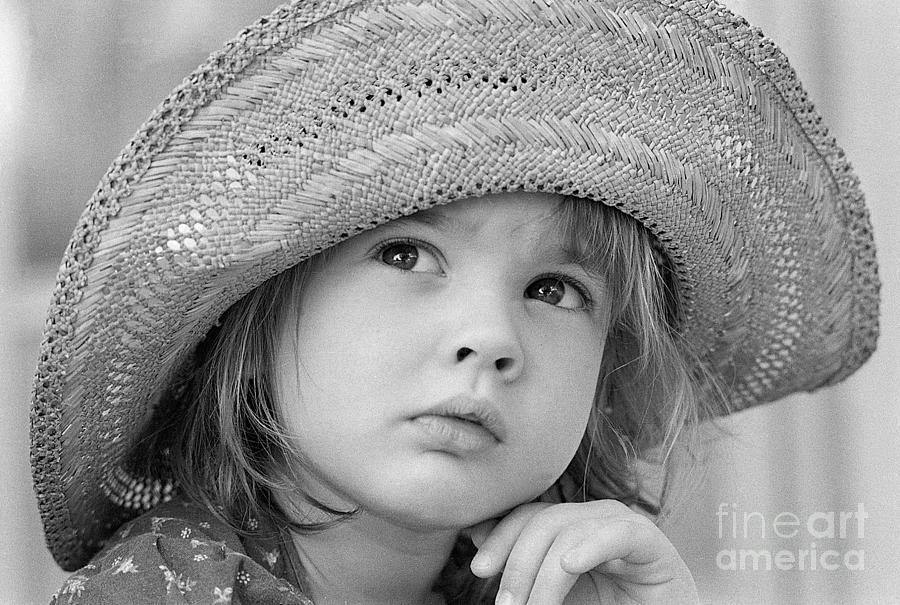 Young Drew Barrymore Photograph by Bettmann
