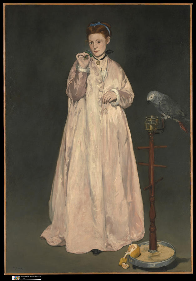 Edouard Manet Painting - Young Lady In   by Edouard Manet