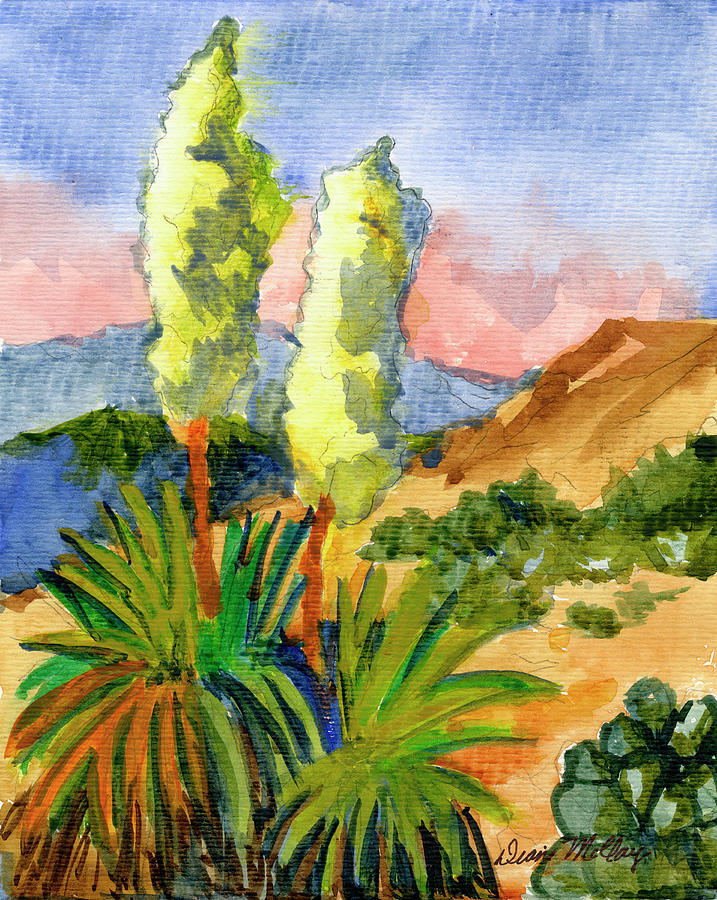 Yuccas by Diane McClary