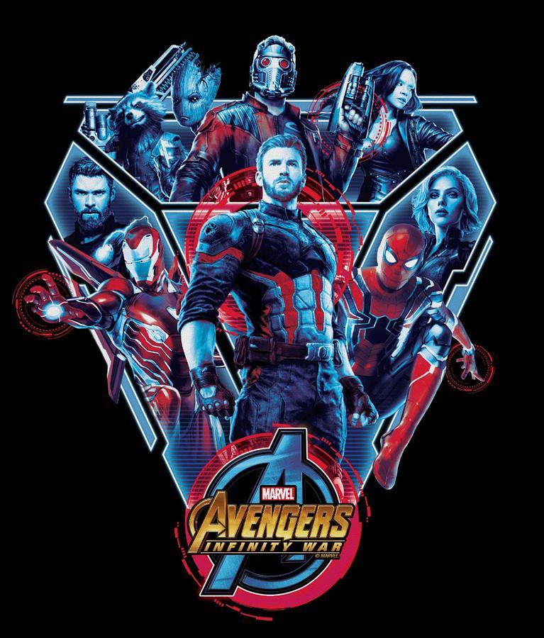 Avengers Digital Art - Avengers by Geek N Rock