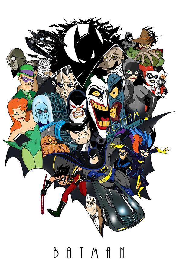 Batman Digital Art - Batman 10 by Geek N Rock