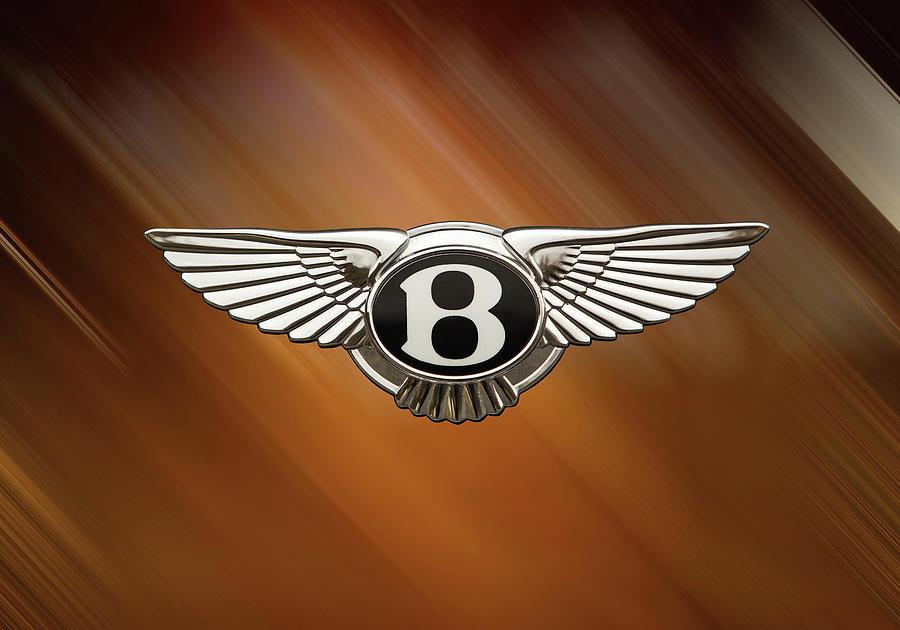 Bentley Digital Art - Bentley Logo by Benjamin Suber