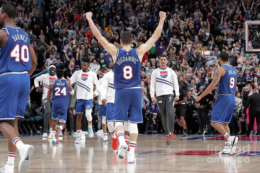 Boston Celtics V Sacramento Kings Photograph by Rocky Widner