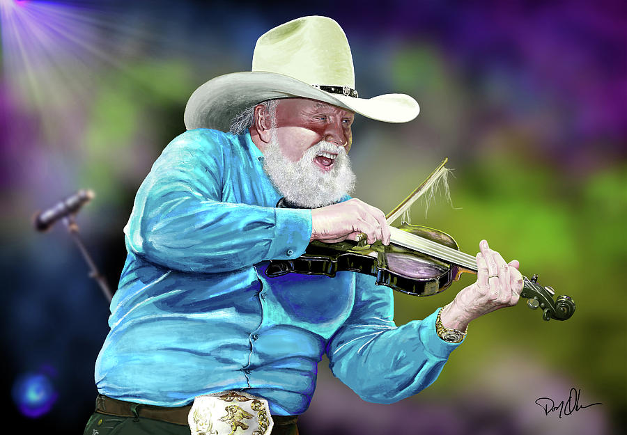 Charlie Daniels by Don Olea