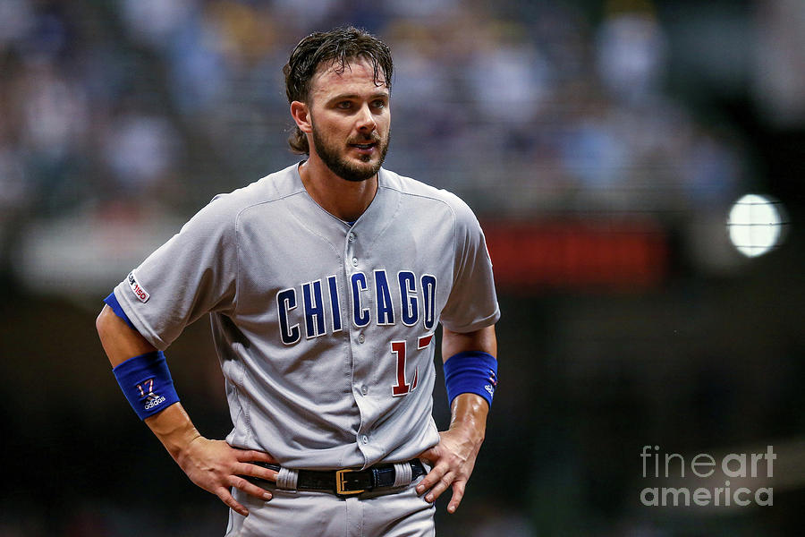 Chicago Cubs V Milwaukee Brewers 10 Photograph by Dylan Buell