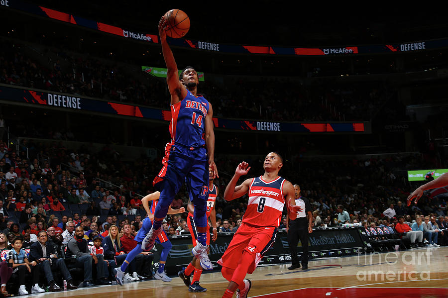 Detroit Pistons V Washington Wizards Photograph by Ned Dishman