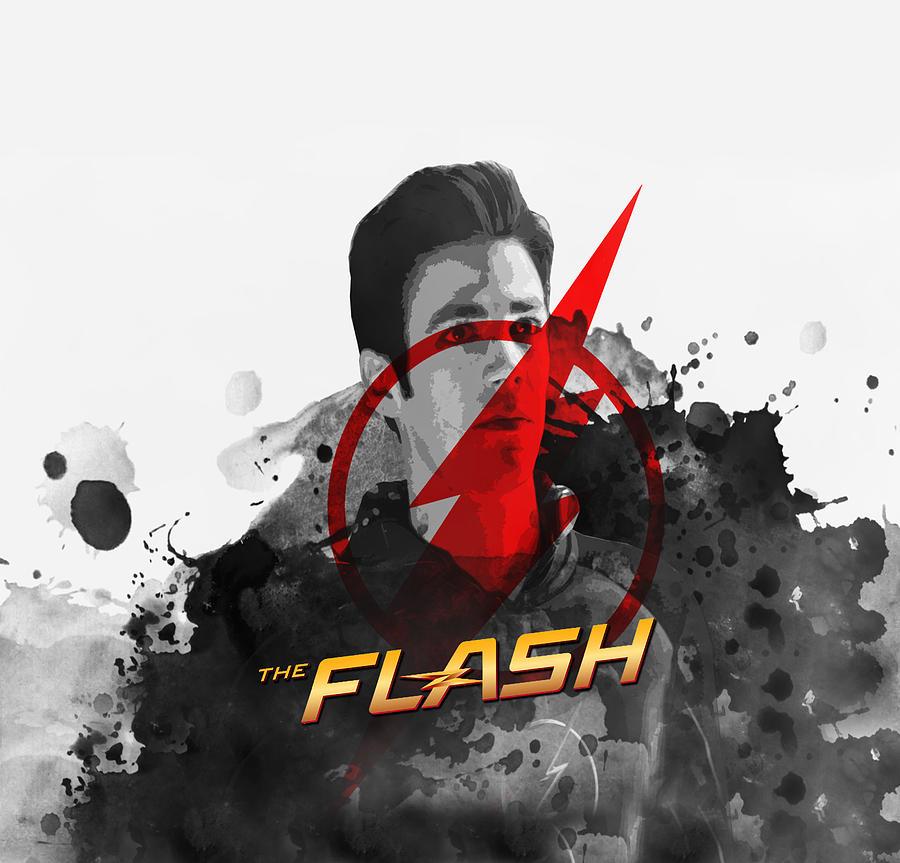 Flash Digital Art - Flash by Geek N Rock