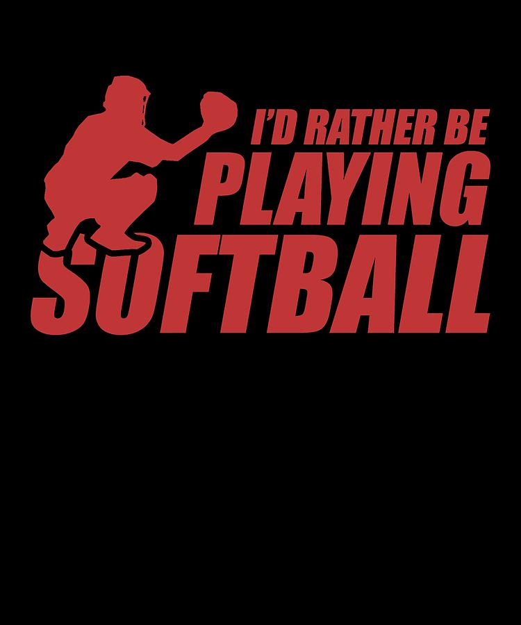 Funny Softball Apparel