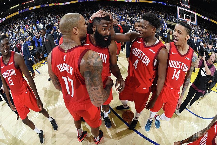 Houston Rockets V Golden State Warriors Photograph by Andrew D. Bernstein