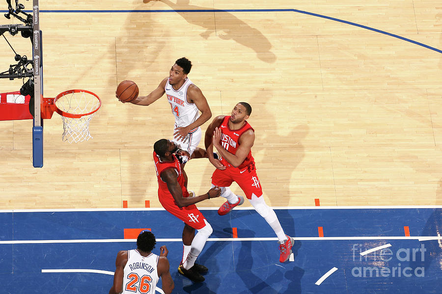 Houston Rockets V New York Knicks Photograph by Nathaniel S. Butler