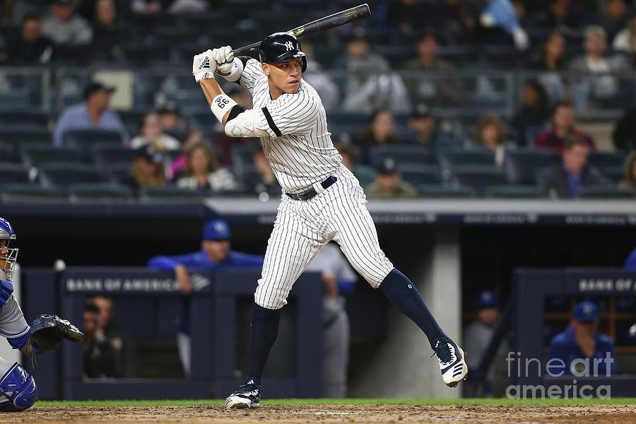 Kansas City Royals V New York Yankees 10 Photograph by Mike Stobe