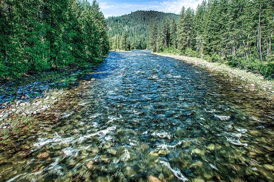 Kootenai River North West Montana by ALEX GRICHENKO