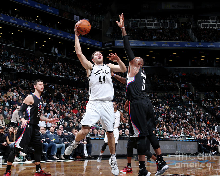La Clippers V Brooklyn Nets Photograph by Nathaniel S. Butler