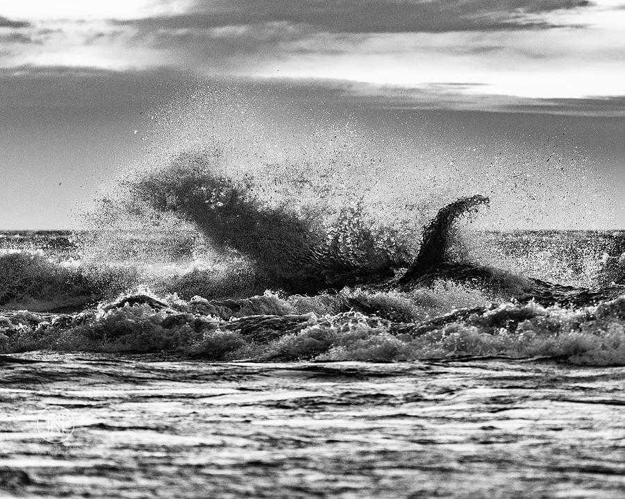 Lake Erie Photograph - Lake Erie Waves by Dave Niedbala