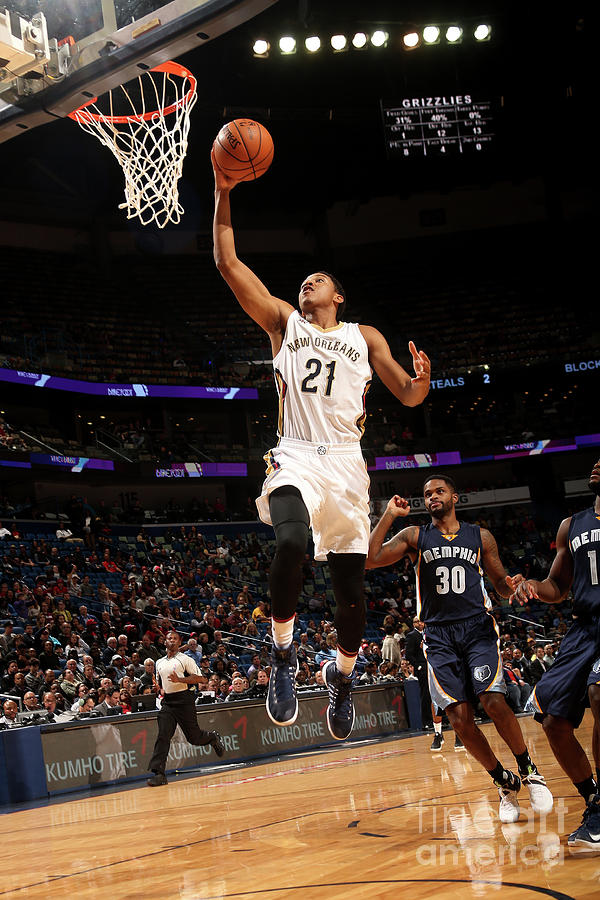 Memphis Grizzlies V New Orleans Pelicans Photograph by Layne Murdoch