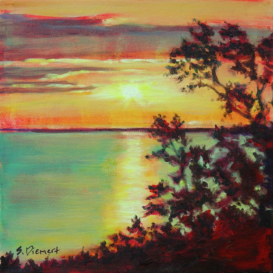 10 Mile Point, Manitoulin Island - 008 Of Celebrate Canada 150 Painting