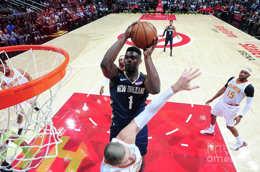 New Orleans Pelicans V Atlanta Hawks Photograph by Scott Cunningham