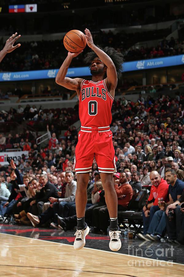 New York Knicks V Chicago Bulls Photograph by Gary Dineen