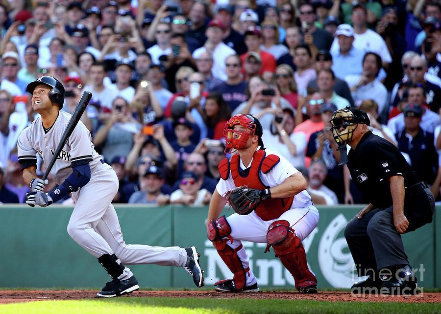 New York Yankees V Boston Red Sox 10 Photograph by Al Bello