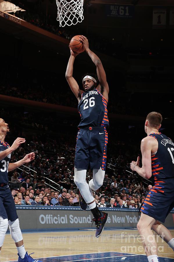 Orlando Magic V New York Knicks Photograph by Nathaniel S. Butler