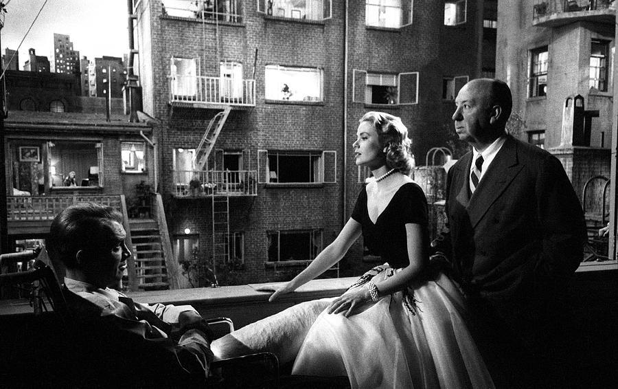 Jimmy Stewart Photograph - Rear Window by Michael Ochs Archives