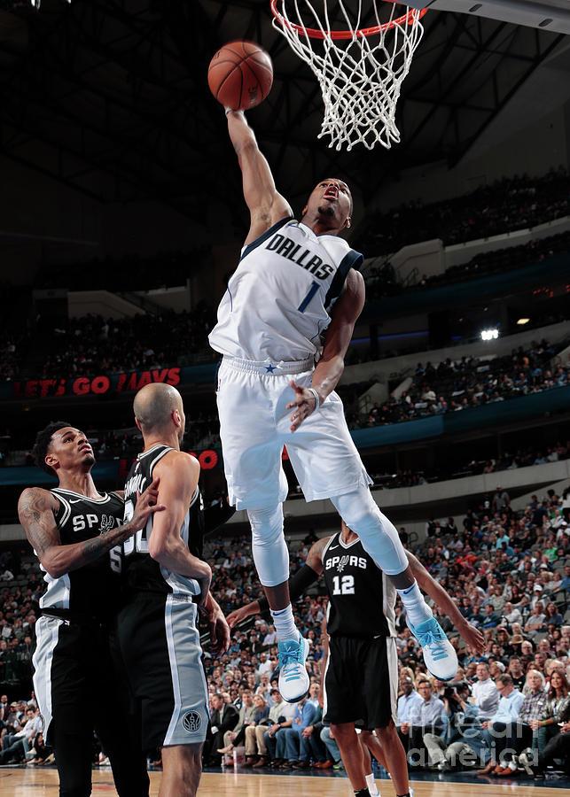 San Antonio Spurs V Dallas Mavericks Photograph by Glenn James