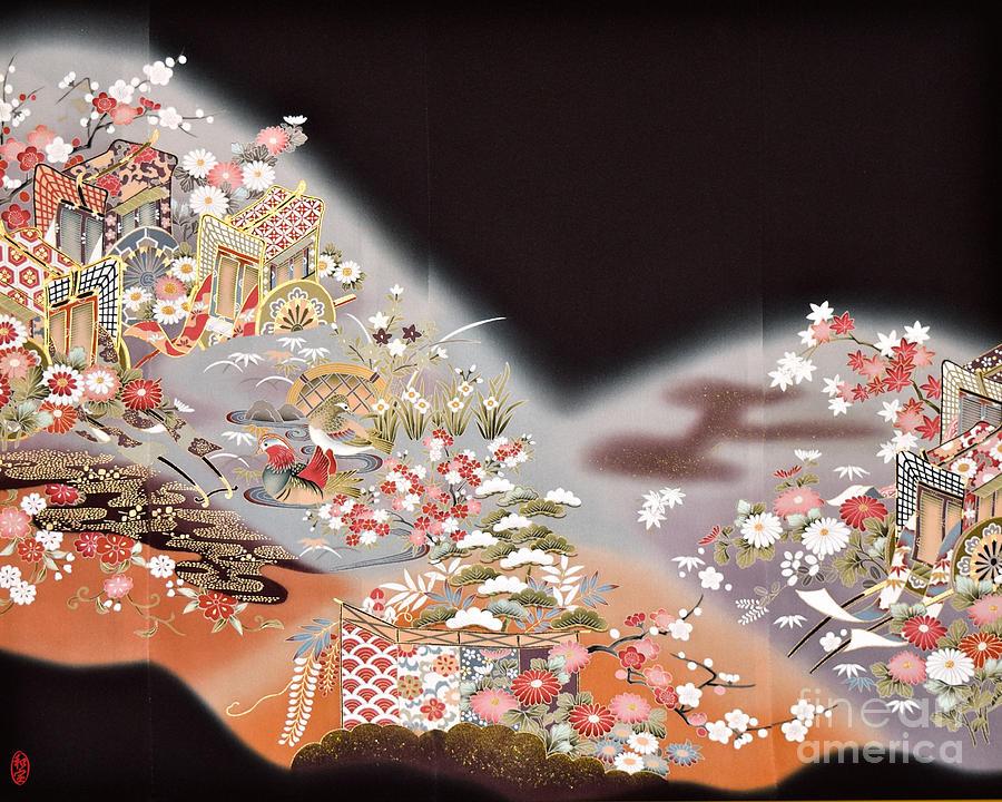 Spirit of Japan T78 Digital Art by Miho Kanamori