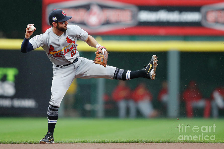 St Louis Cardinals  V Cincinnati Reds Photograph by Joe Robbins
